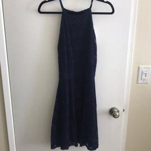 Bloomingdales Aqua Navy Dress